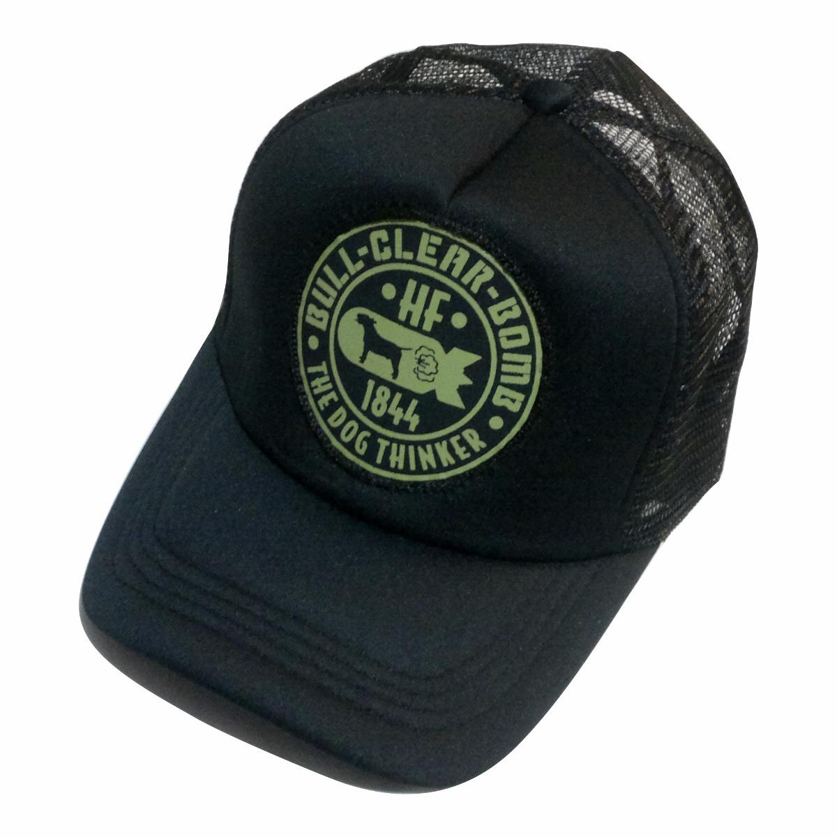Gorras Trucker Hf ® Bull Clear Negro En Stock Originales!! -   299 ... f3e9f802387