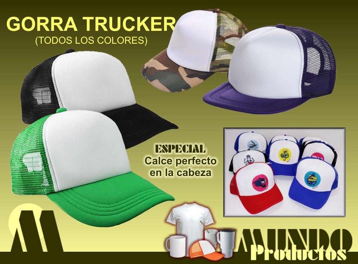 gorras trucker importada x 50 unidades p sublimar. Cargando zoom. 7a9794823f7