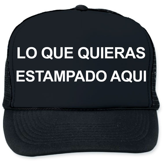 Gorras Trucker Personalizadas La Imagen Que Quieras Trailero ... 6eb545d3b2c
