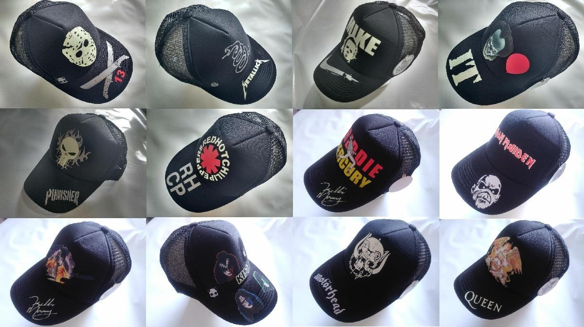 Gorras Trucker - Rock - Super Héroes - Cine - Varios Modelos ... 0286bd5a1d6