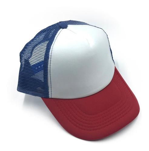 gorras trucker x 24 basíca para sublimar bordar mayor fight