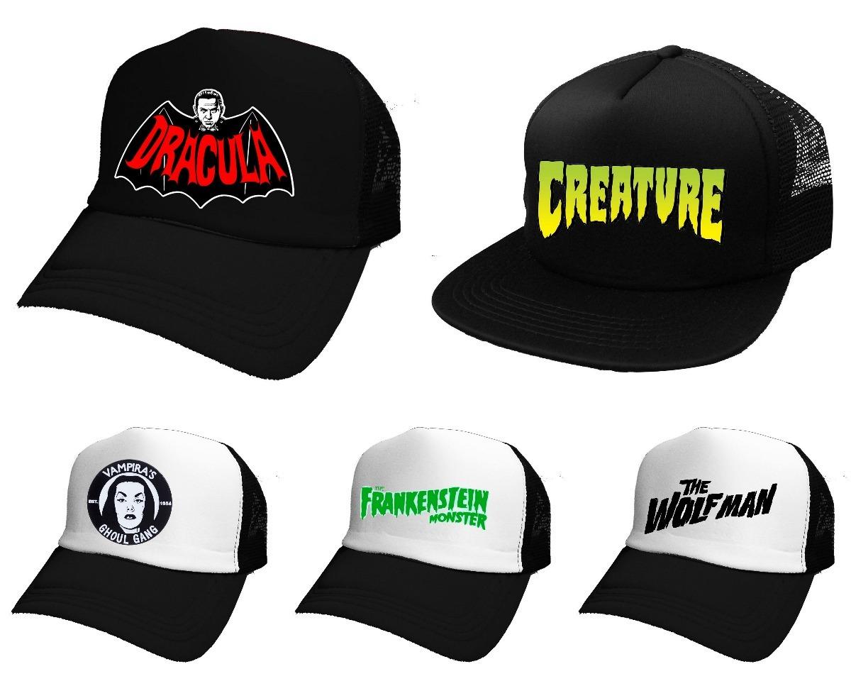 Gorras Universal Monsters Pinup Monstruos *mr Korneforos* - $ 239,99 ...
