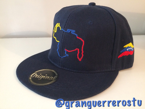 gorras venezuela planas modelo nuevo original personalizable