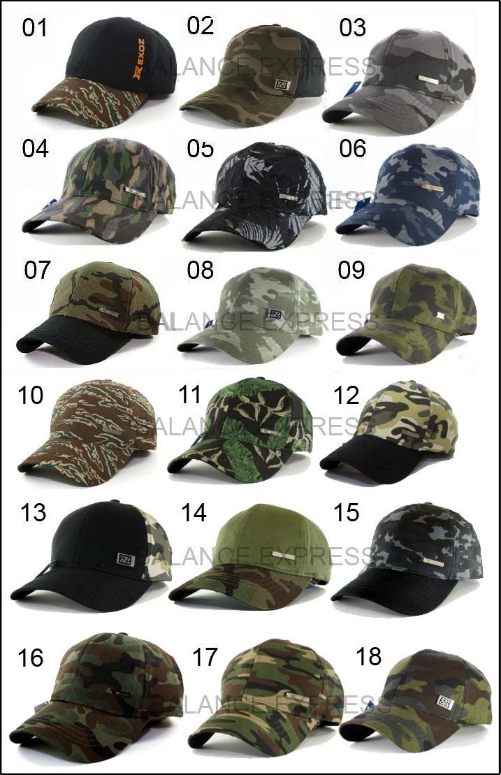 gorras visera larga camufladas nuevos modelos. Cargando zoom. 8d64df5013b