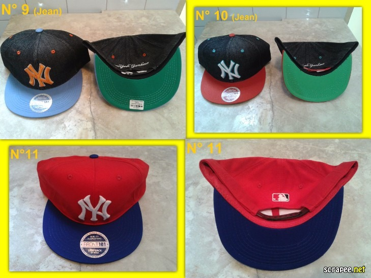 Gorras Viseras Planas New York Yankees Ny - Varios Modelos -   150 ... 619df7041ed