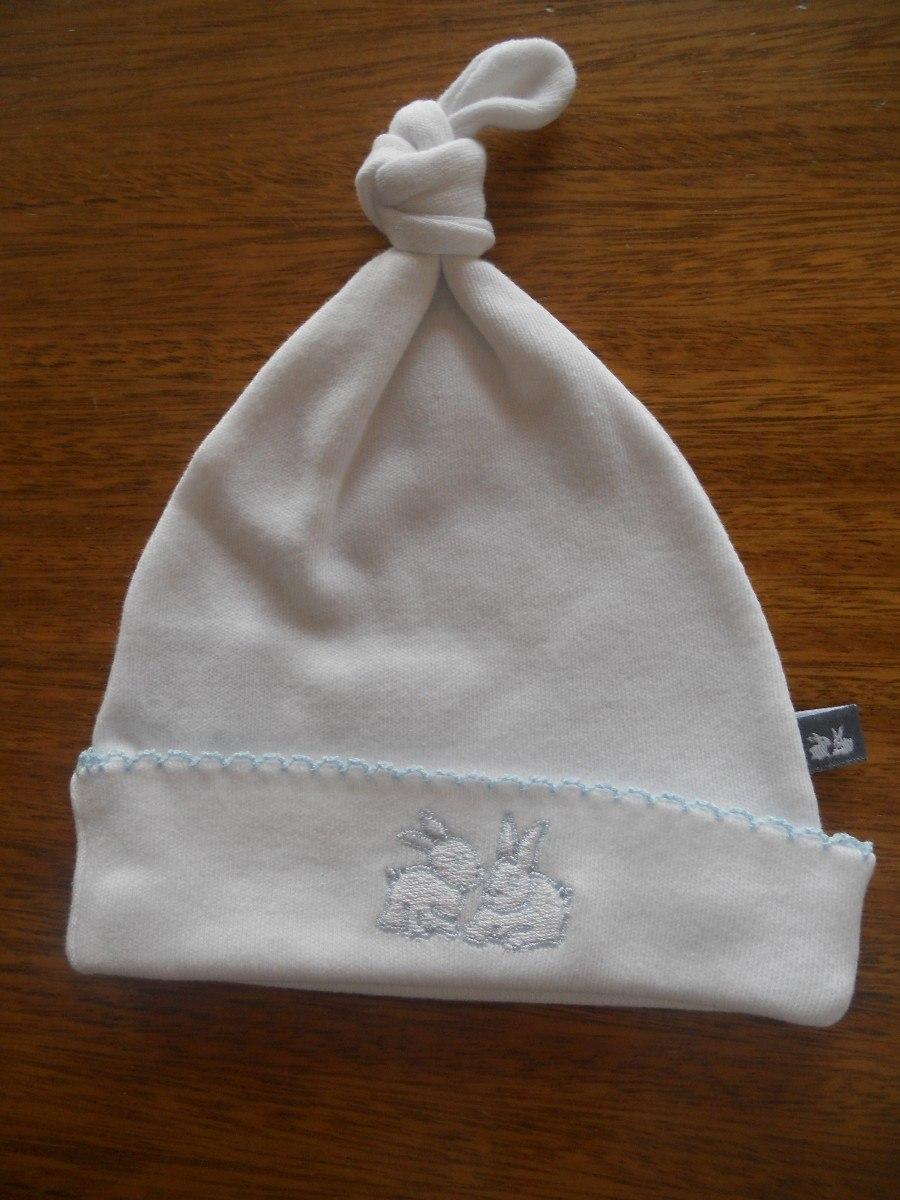 gorrito de algodón con nudo + portachupete - recién nacido. Cargando zoom. 5f7283c7bd2
