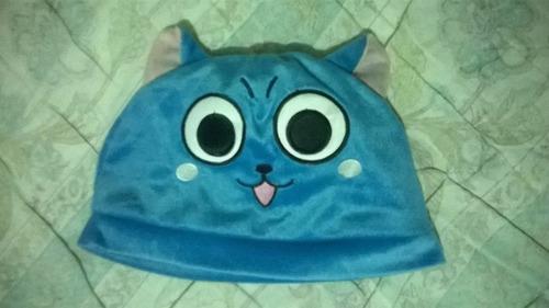 gorrito tipo peluche happy fairy tail otaku anime cosplay