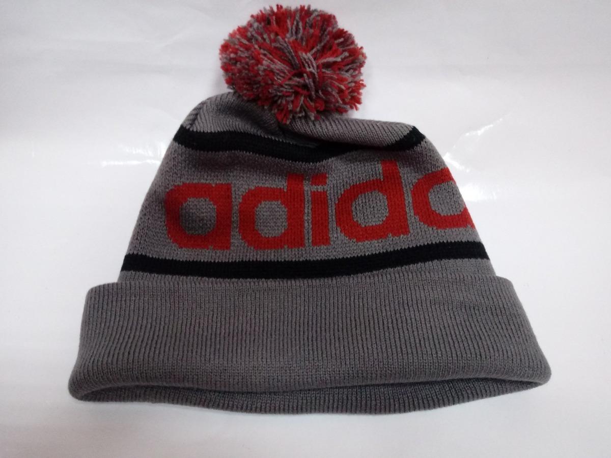 347b91484a8 ... Beanie Winter Hat Cap Black Red Q45347  reputable site fc9b9 67127  gorro adidas originals mercer ballie pom.