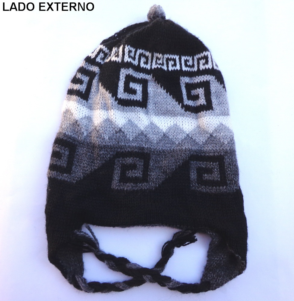 e50b93580381f gorro andino peruano coya chullo touca do chaves boliviano. Carregando zoom.