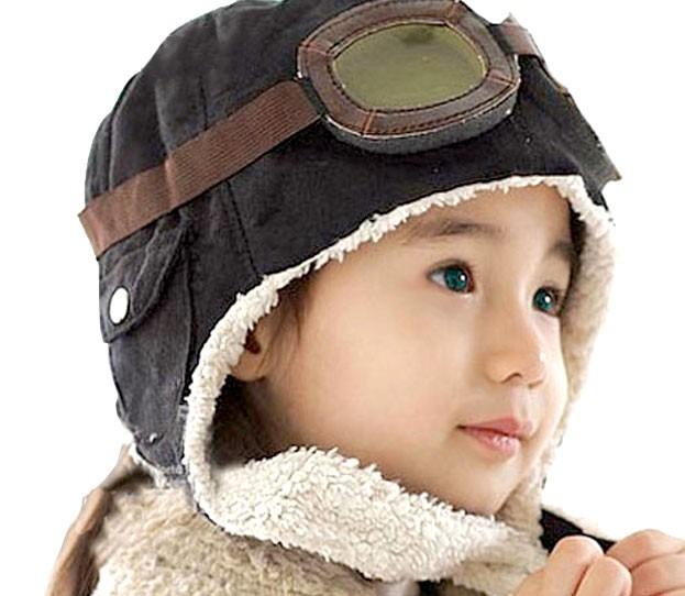 a0cceb097290b Gorro Aviador Infantil Macio Quentinho Moda Inverno Touca - R  39