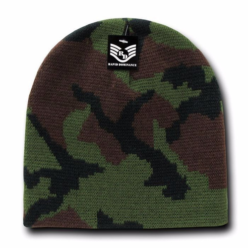 gorro beanie unisex camuflaje militar rapid dominance