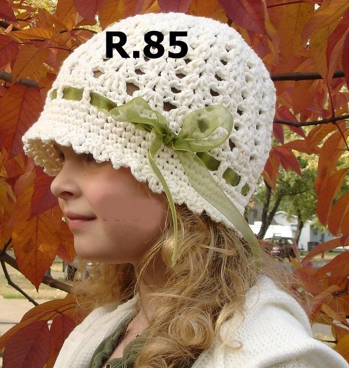 Gorro Bebe Niña Tejido Crochet Sombrero Invierno Verano 19 -   300 ... 997f89e59eb