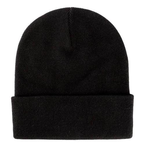 gorro bini liso bonete beanie acrilan invierno negro