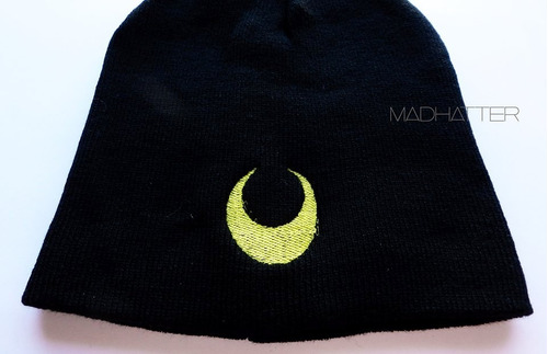 gorro bordado beanie sailor moon  rocker grunge kawaii anime