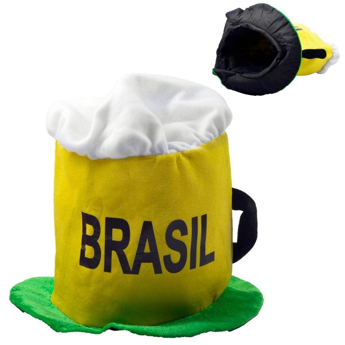 gorro brasil copa do mundo fantasia festas carnaval r 20 00 em