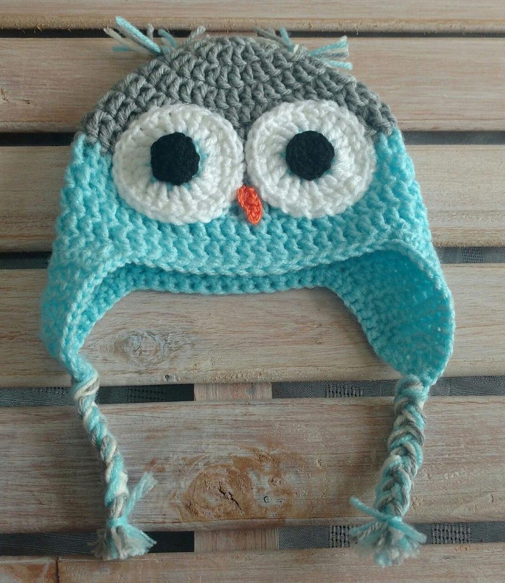 365c0173d gorro buho tejido al crochet para nena. Cargando zoom.