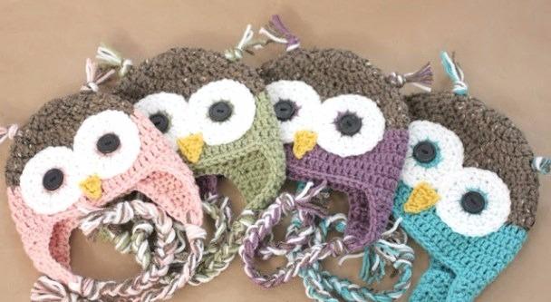 5772717b0 Gorro Buho Tejido Al Crochet Para Nena -   190