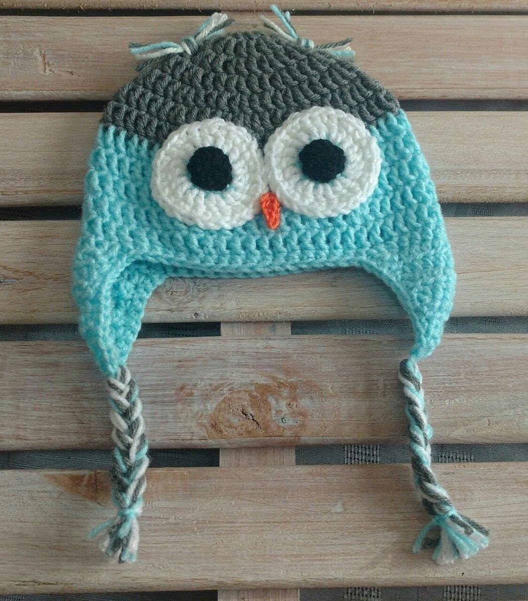 Gorro Buho Tejido Al Crochet. Precio Al Por Mayor X10 U. - $ 1.000 ...