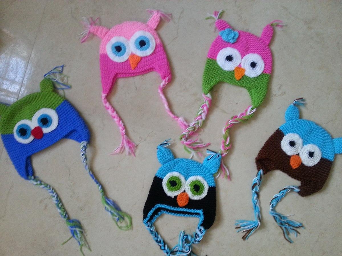 34c1a1c73 Gorro Buho Tejido Crochet -   50.00 en Mercado Libre