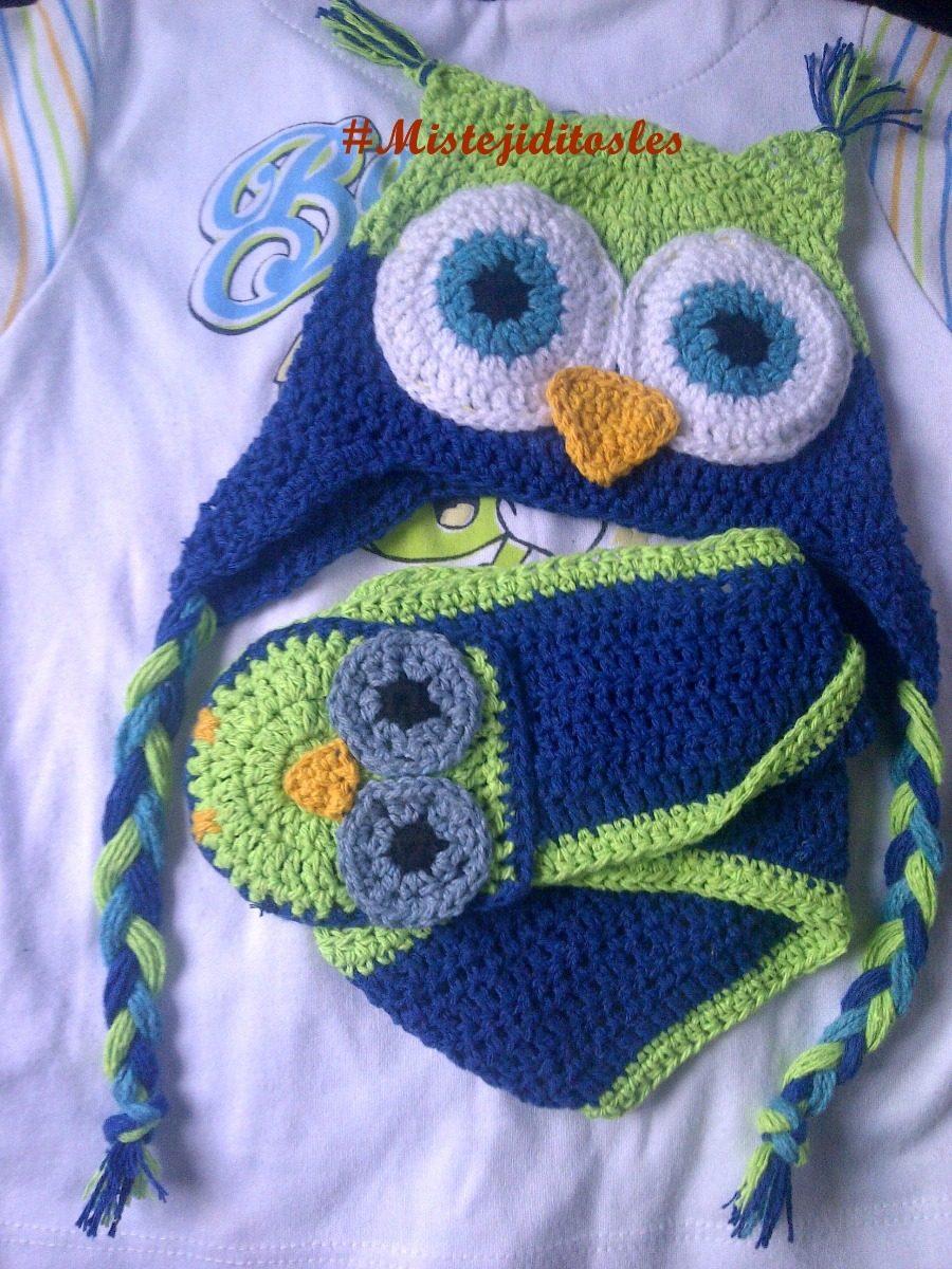 f38feabba gorro buho tejido crochet bebe niña niño adulto. Cargando zoom.