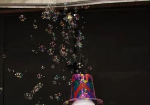 gorro burbujero máquina de hacer burbujas entre y lleve