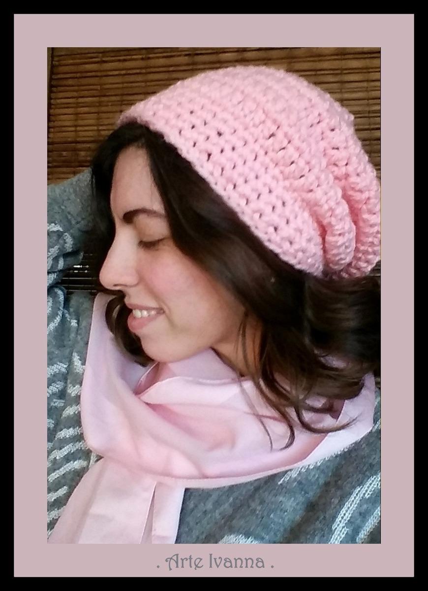 73bdbdf1ce768 gorro caido mujer niños lana tejido crochet artesanal. Cargando zoom.