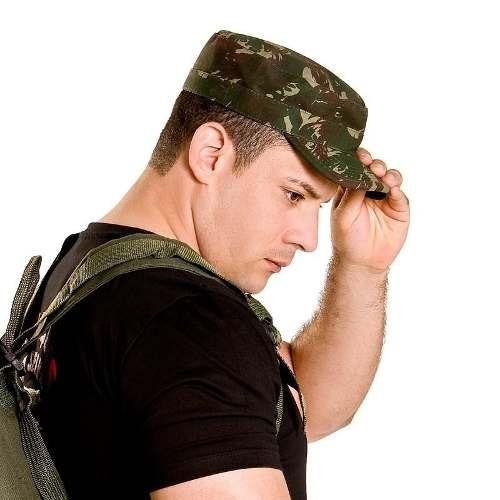 916d2fdd2d3b4 Gorro Camuflado Pala Dura Padrão Exército - Boné   Chapéu - R  78