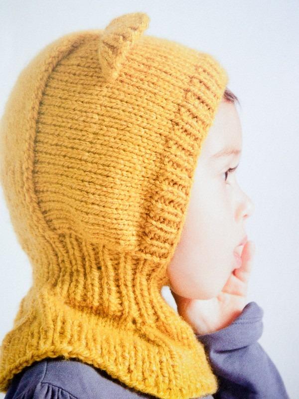 gorro capucha tejido con orejas de osito de miel para bebé. Cargando zoom. 49e1e39d232