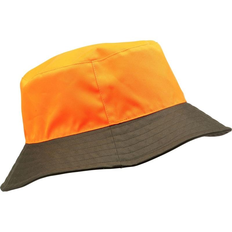 98768d59d7bb4 gorro caza reversible impermeable naranja y verde solognac. Cargando zoom.