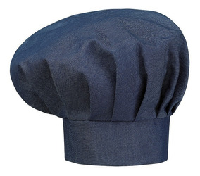 28c3a59fa7b5 Gorro Chef Tipo Hongo En Jean / Denim - Diseño- La Domenica