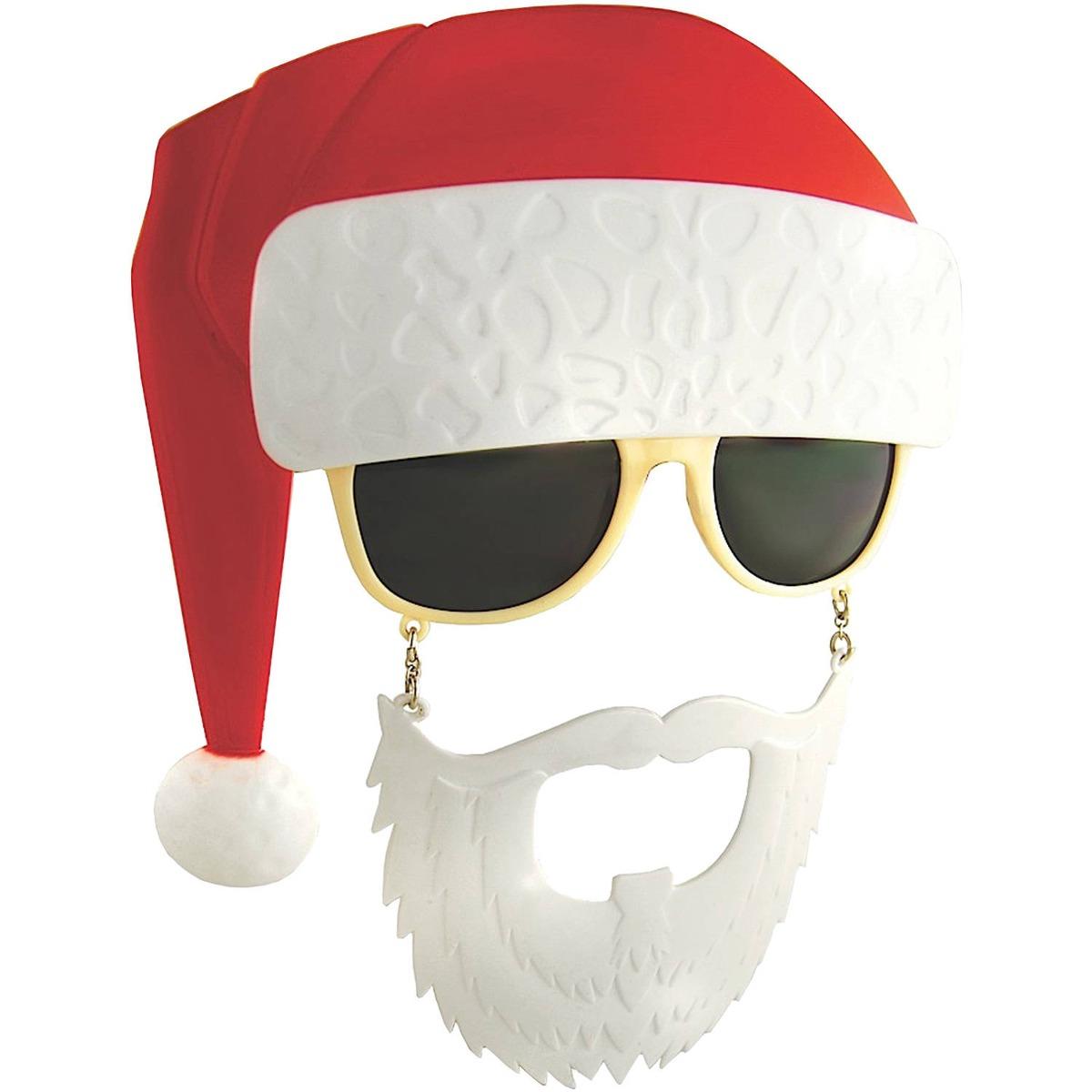 Gorro Con Gafas De Sol Y Barba De Santa Claus Para Hombre ...