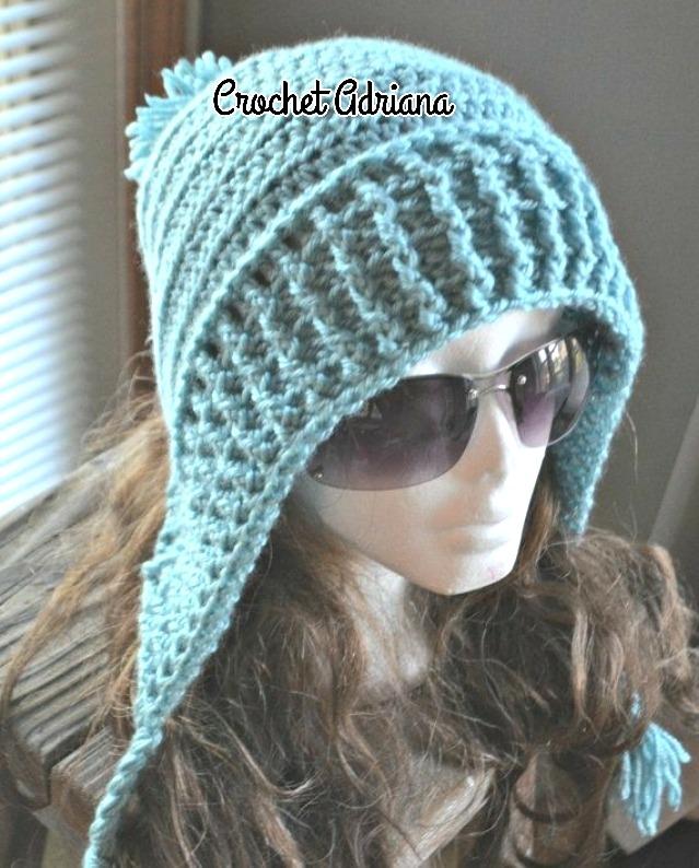 Gorro Crochet Dama O Niñas - $ 380.00 en Mercado Libre