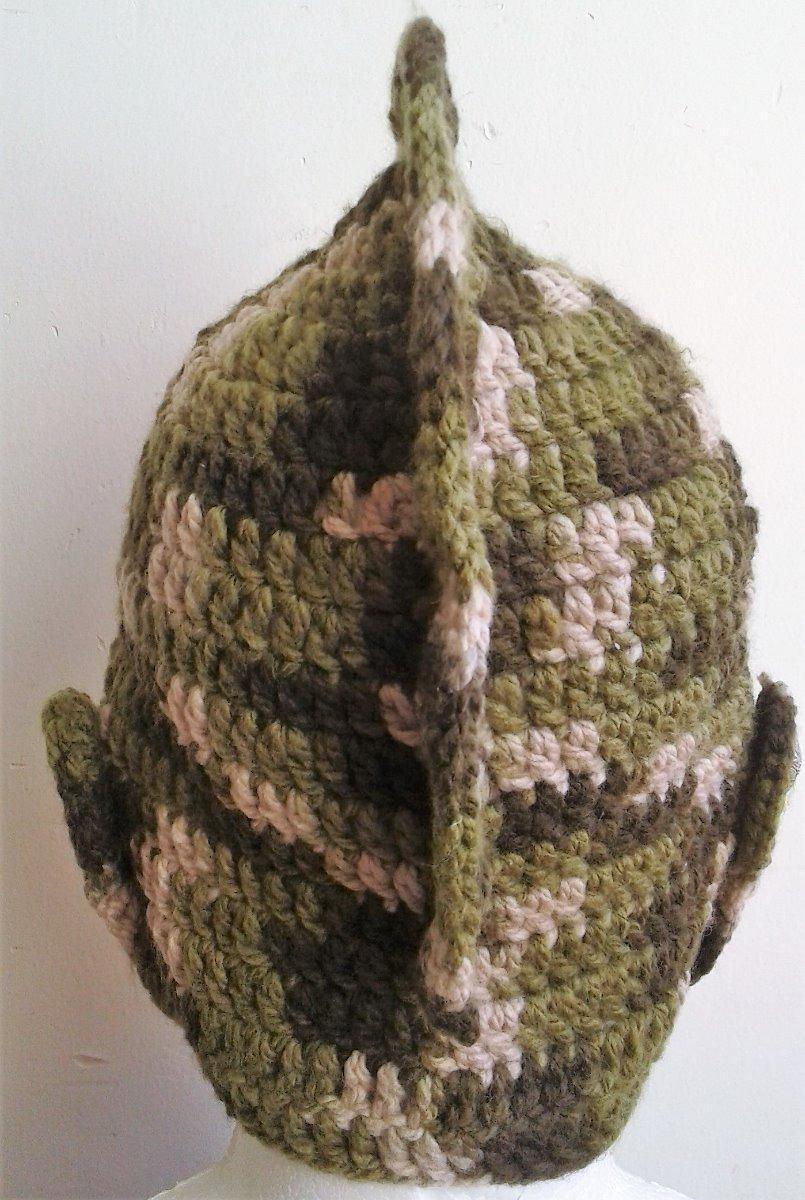 Gorro Crochet Tejido Militar Casco Medieval Adulto Hombre - $ 280.00 ...
