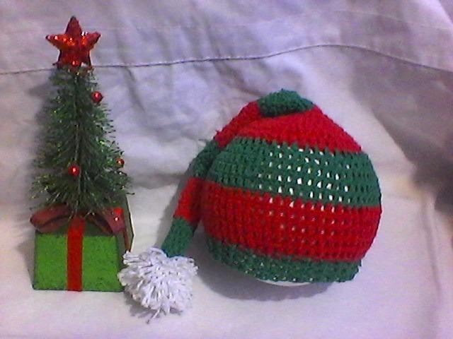Gorro Cubrepañal Navidad Disfraz Tejidos Bebe Hembra Varon - Bs ... 88f25ddd000