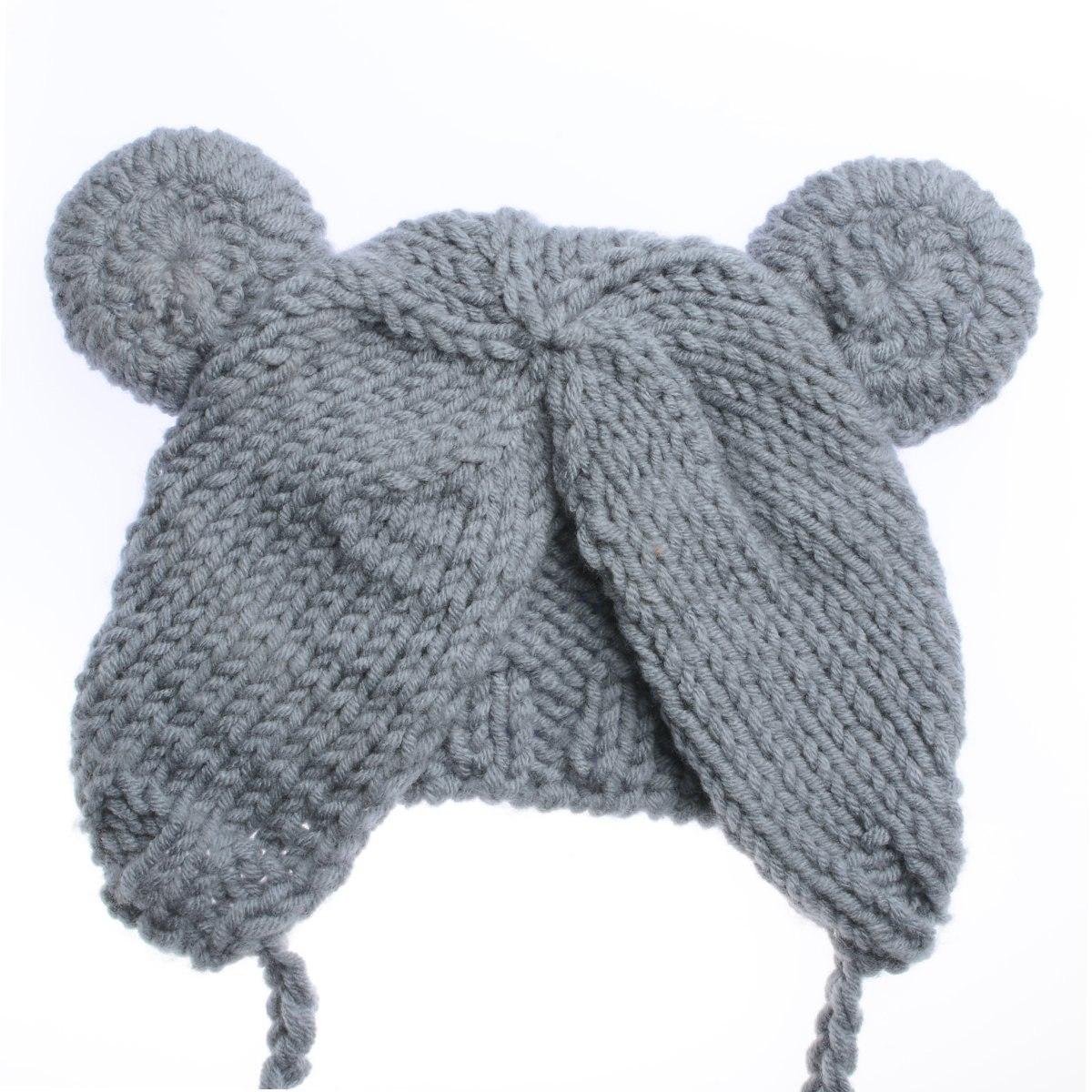 gorro de bebe de bebé recién nacido con muñecas de oso ac. Cargando zoom. 038fb00d385