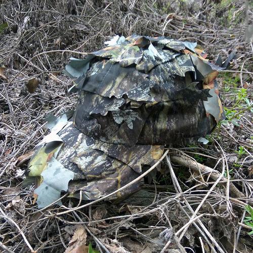 gorro de caza pesca camuflaje árbol camo hoja ajustable