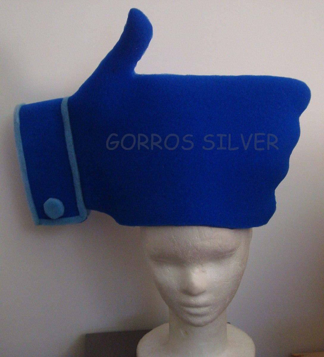 Gorro De Cotillon Me Gusta - Goma Espuma -   350 09fc2a94d17