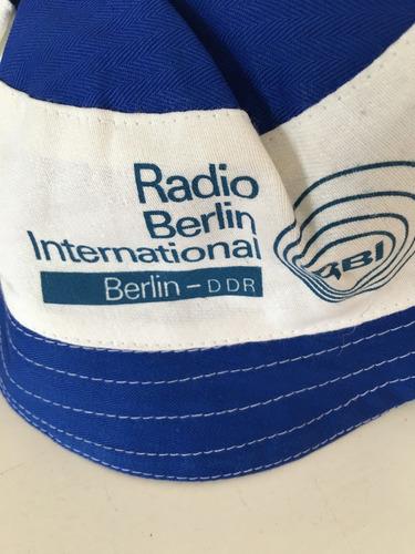 gorro de  ex radio berlin ddr-año 1980
