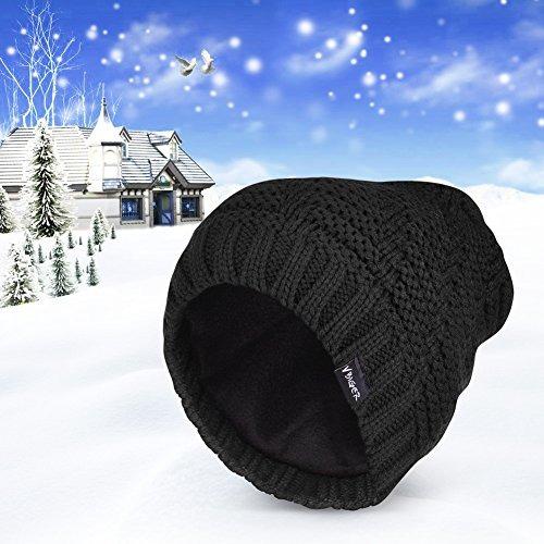 88ba7828d00b7 Gorro De Invierno Para Hombre Color Negro Holgado Suave -   56.550 ...