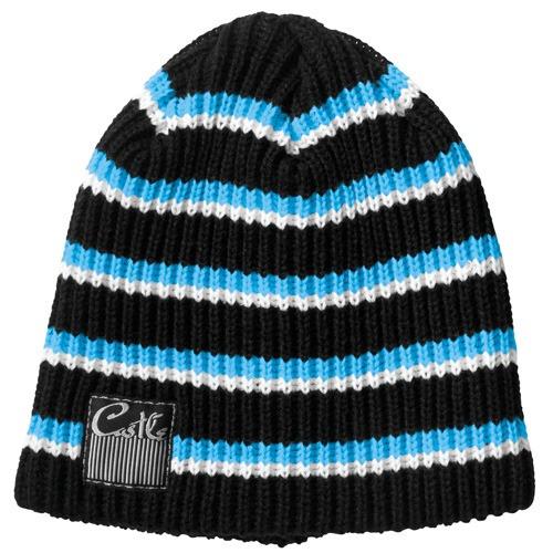 gorro de lana castle x racewear zoom mujer azul