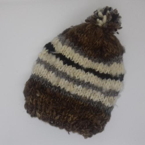 gorro de lana de oveja chiloé envíos gratis