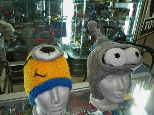 gorro de lana minion