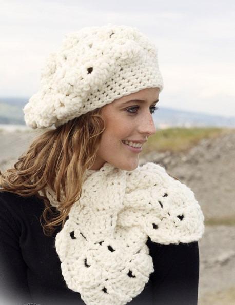 Gorros De Lanas. Gorro De Lana Mujer Crochet Boina Tejido Artesanal ...