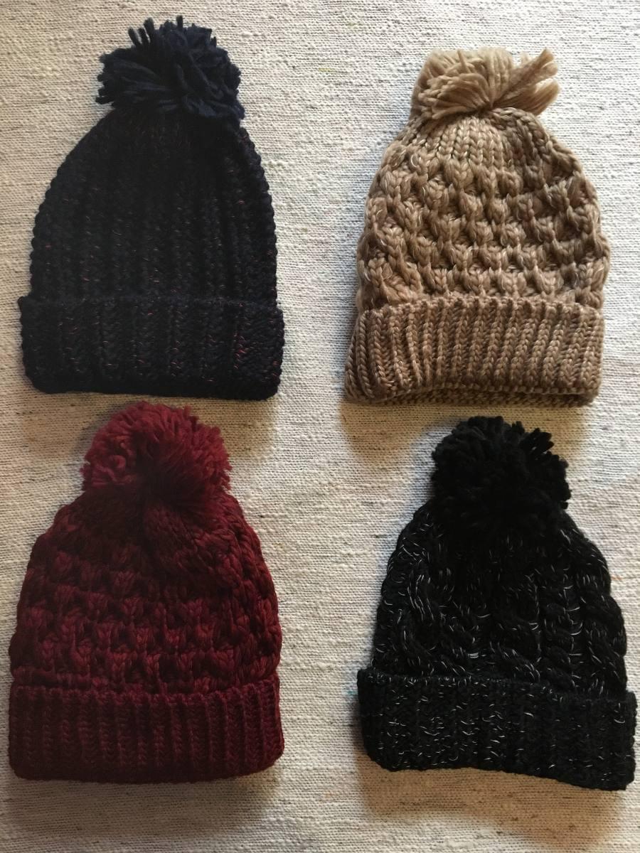be177ccfc4c gorro de lana pompon varios colores. Cargando zoom.