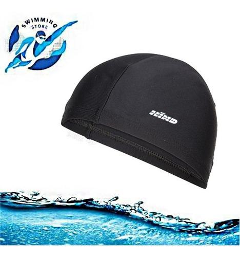 gorro de licra para natacion hind para niños y adultos