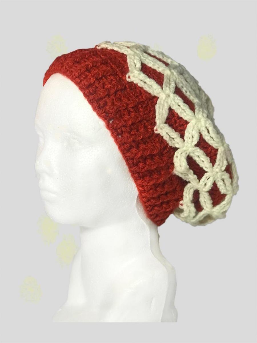 Gorro De Moda En Crochet - $ 250.00 en Mercado Libre