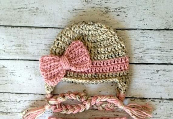 583a36ddf Gorro De Nena A Crochet -   280