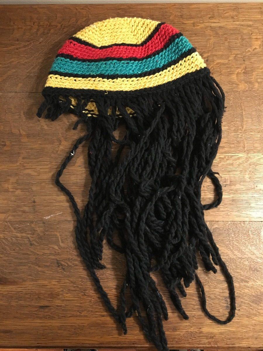 Gorro De Rastas Reggae - $ 200,00 en Mercado Libre