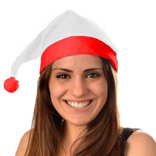 gorro de santa navideño posadas fieltro