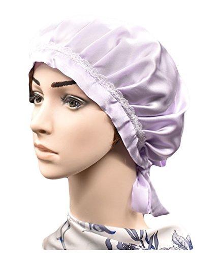 gorro de seda para el cabello y capucha para el cabello de